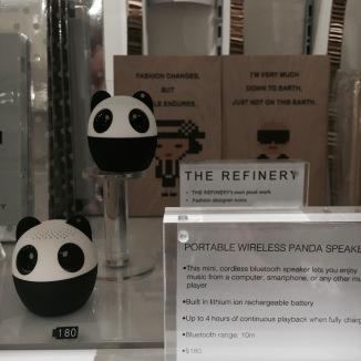 Głośniki w kształcie pandy <3