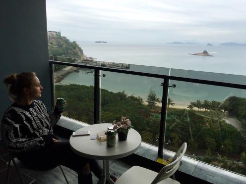 Widok z naszego balkonu (fot. Domi)